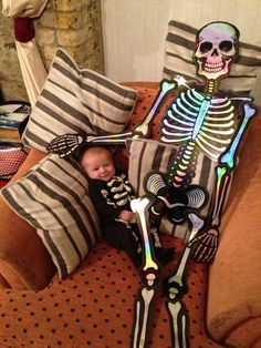 Baby Theo for Halloween.SO CUTE