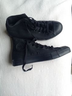 Black high top converse size 7.5/8 (not 100% sure haven't tried them on) - $50