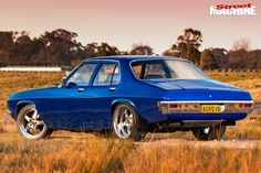Richard Wiltshire and his son built this blown HQ Holden at home from a rolling shell to tough streeter Australian Muscle Cars, Aussie Muscle Cars, Hq Holden, Holden Muscle Cars, Big Girl Toys, Classic Cars, Classic Auto, S Car, Hot Cars