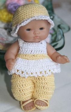 PDF PATTERN Crochet 5 inch Berenguer Baby Doll by charpatterns, $5.00 http://www.etsy.com/listing/75298078/pdf-pattern-crochet-5-inch-berenguer?ref=shop_home_active