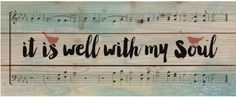 """It Is Well With My Soul""                                                                                                                                                                                 More"
