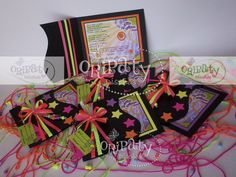 Tarjetas de invitación para 15 Años con temática Neón Airbrush Cake, Paint Party, Party Supplies, Gift Wrapping, Neon, Gifts, Painting, 15 Years, Party