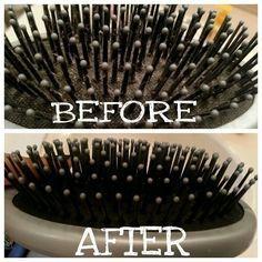 Cepillos para el cabello | Cómo limpiar absolutamente (casi) todas y cada una de las cosas