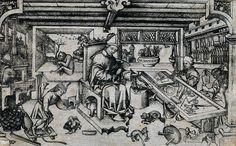 Saint Eligius in his workshop - Goldsmith - Wikipedia, the free encyclopedia