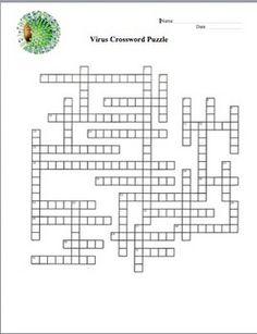 Viruses Crossword Puzzle ($)