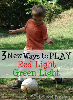 It's as easy as one, two, three! Put a new twist on an old game to get your child moving at home.