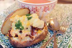 Camden baked bean bacon potatoes | Millas Mat
