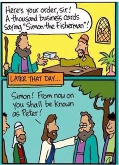 Simon the fisherman renamed