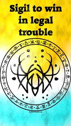Wolf Of Antimony Occultism — Sigil to win in legal trouble Commissioned. Witch Spell Book, Witchcraft Spell Books, Magick Spells, Wiccan Symbols, Magic Symbols, Celtic Symbols, Egyptian Symbols, Ancient Symbols, Protection Sigils