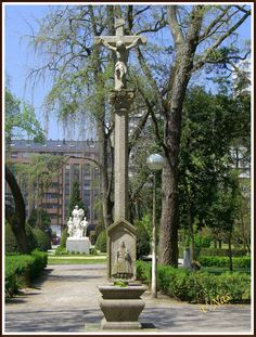 Gijón de luces: Parque Isabel la Católica