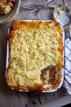 Roast Garlic Shepherd's Pie