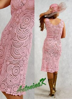 OMG!!!  First, I wish I still had a figure like this, and secondly, if I did, I would definitely WEAR this!!!  Pink lace freeform by antonina.kuznetsova, via Flickr