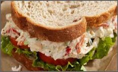 Weight Watchers Recipes - Chicken Salad Sandwich