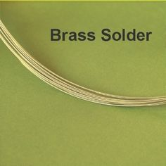 GREAT place for brass colored solder, wire, and brass sheets (copper too!)