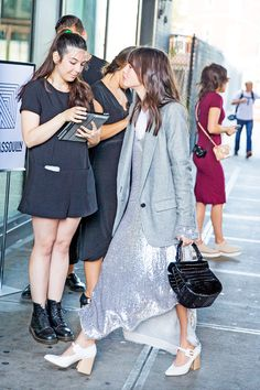 Check Your Drool: the Outfits Outside Rosie Assoulin - Man Repeller