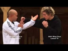 Wing Chun Lesson 18:basic blocking combo drill/ blocking a straight punc...