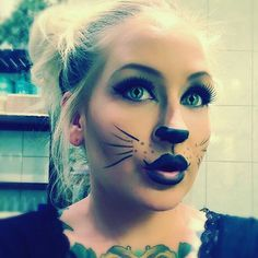 #preview on my #halloween #makeup #look #cat #catmakeup #sassy #cute #sexy #beauty #creative #fashion #halloweenmakeup #makeupartistsworldwide
