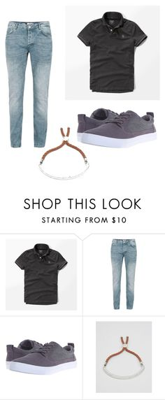 """""""Everyday1"""" by peyton-sizemore ❤ liked on Polyvore featuring Abercrombie & Fitch, Topman, TOMS and ASOS"""