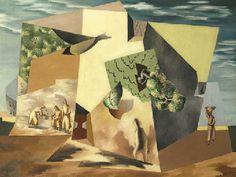 Leopold Survage (1878-1968)  Paysage du Roussillon