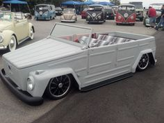 Legit. VW thing. cleaned up and slammed.