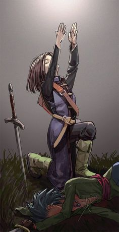 Embedded Akira, Video Game Art, Video Games, Character Inspiration, Character Art, Dragon Warrior, Dungeons And Dragons Characters, Cute Dragons, Book Cover Art