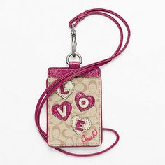 Coach Factory Official Site ...cute ID lanyard