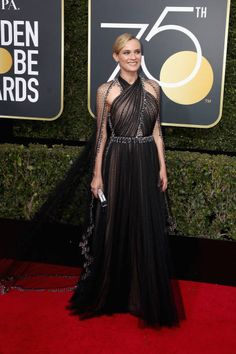 Diane Kruger attends The 75th Annual Golden Globe Awards at The Beverly Hilton Hotel on January 7 2018 in Beverly Hills California