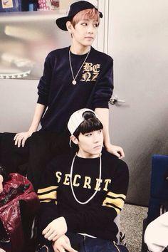 BTS~ V and Jhope ❤️
