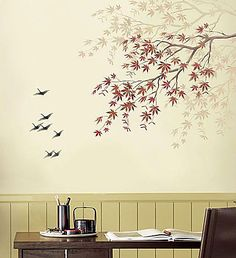 If you love the look of trendy vinyl wall decals but dislike the idea of putting stickers on your walls, these silhouette wall art stencils are just what you've been looking for. Description from etsy.com. I searched for this on bing.com/images