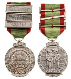 PORTUGAL - Armed Forces Expeditions Commemorative Medal, instituted in 1916 -  Breast Badge, 38 mm, silver | Coins la Galerie Numismatique