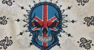 Bandana, Day of the Dead Sugar Skull motorcycle bandana with bling #motorcycle #bandana