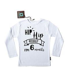 Hip Hip Hooray 6 mon