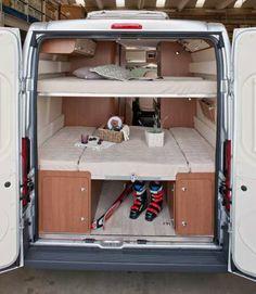 Van Conversion Campervan, Minivan Camper Conversion, Van Conversion Interior, Campervan Bed, Campervan Interior, Mercedes Vito Camper, Ducato Camper, Hippie Camper, Diy Camper Trailer