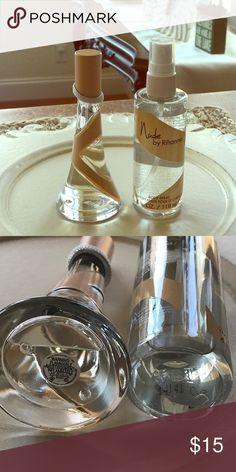 RIHANNA NUDE PERFUME!!! Wonderful smell! You will receive the perfume 1.0fl.oz. Also body splash 4fl.oz. Enjoy!!! Rihanna Other