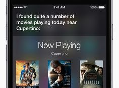 Things To Ask Siri, Ios 8, Movies Playing, Security Surveillance, Iphone6, Main Dishes, Tech, Apple, Ideas