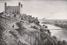 Bratislava 1850 - Stránka o šľachtických rodoch Bratislava, Old Pictures, Old Photos, Historical Pictures, Monument Valley, Paris Skyline, Castle, Painting, Travel