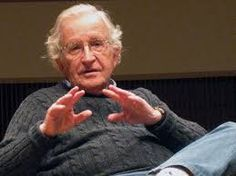 """Noam Chomsky is an American linguist, philosopher, cognitive scientist, historian, social critic, and political activist. Sometimes described as """"the father of modern linguistics"""", Chomsky is also a major figure in analytic philosophy and one of the founders of the field of cognitive science. He is Institute Professor Emeritus at the Massachusetts Institute of Technology (MIT), where he has worked since 1955, and is the author of over 100 books on topics such as linguistics, war, politics…"""