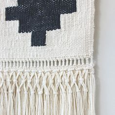 Detail shot of weaving