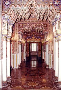 Abandoned castle of Sammezzano, Italy - Derelict Places