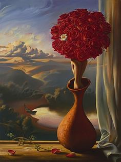 Vladimir Kush Fine Art Reproductions paintings,here you can find the best price paintings. Vladimir Kush, Surrealism Painting, Pop Surrealism, Modern Surrealism, Dali Paintings, Sculptures For Sale, Wassily Kandinsky, Salvador Dali, Visionary Art
