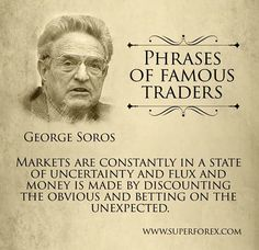 Phrases of famous traders #SuperForex #Forex #Trade #Trader #Soros #Phrases