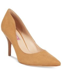 Dolce by Mojo Moxy Tammy Pointed-Toe Pumps $59.00 Dolce by Mojo Moxy creates a sensual silhouette in these Tammy pumps with a unique, curved upper to update a go-to classic.