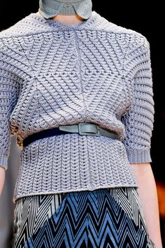Inspiration - Cacharel F/W 2012... great shape