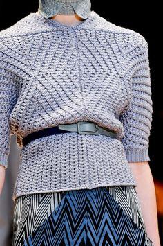 Inspiration - Cacharel F/W 2012... great shape