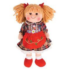 Bigjigs Mandie 34cm Doll @ Kiddicare.com