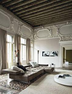 Decorating idea for loft space