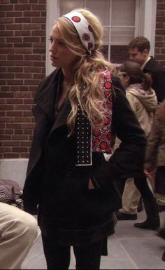 Serena van der Woodsen style: A Thin Line Between Chuck and Nate