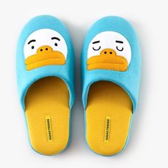 Kakao Friends Official Goods Tube Character Applique Home Office Slippers 151 #KakaoFriends