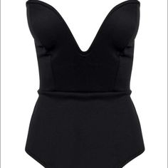 Topshop PETITE Tops - Black bodysuit never used.