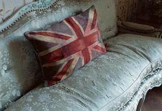 VW flag cushion by Vivienne Westwood
